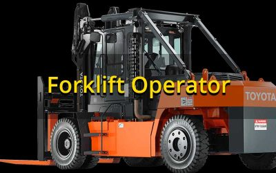 Qualified Forklift Operator