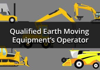 Qualified Earth Moving Equipment's Operator