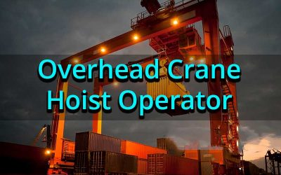 Safe Operation of Overhead Traveling Crane Operator (Initial)