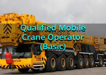Qualified Mobile Crane Operator (Basic)